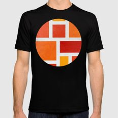 60's Mod Black SMALL Mens Fitted Tee
