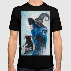 Blue Valentine SMALL Black Mens Fitted Tee