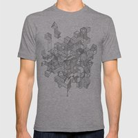 Simplexity Mens Fitted Tee Athletic Grey SMALL