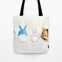 Make the Unlikeliest of Friends, Wherever You Go Tote Bag
