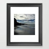 Duncans Cove Beach Framed Art Print