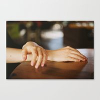 Glimpses Of Skin Canvas Print