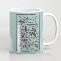 Time For Adventure Mug