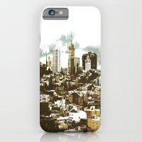 iPhone & iPod Case featuring sanscape 2 by Jaina Tharakan