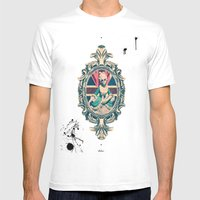 Bourgeoisie Woman Mens Fitted Tee White SMALL