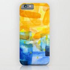 Sunburst Watercolor iPhone 6 Slim Case