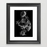 Sweet Monkey Framed Art Print