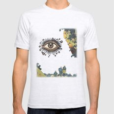 Third Eye  Mens Fitted Tee Ash Grey SMALL