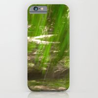 Green Feathers iPhone 6 Slim Case