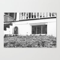 Mary, the Mother (black&white) Canvas Print