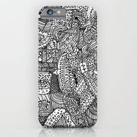 iPhone Cases featuring It's a matter of Complexity not Simplicity by Blaz Rojs