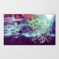 Holga Flowers V Canvas Print