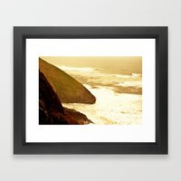 Coast Framed Art Print