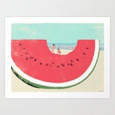 Watermelon Art Print