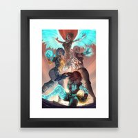 Phase Framed Art Print