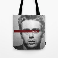 Live Fast Tote Bag
