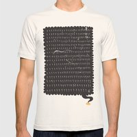 Ligthning Strike | Rath Mens Fitted Tee Natural SMALL
