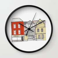 Tombland Buildings, Norw… Wall Clock