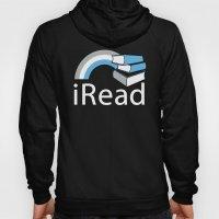 i Read | Book Nerd Slogan Hoody