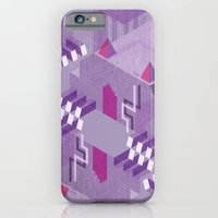 Den of the Headless Lion in Purple and Lavender iPhone 6 Slim Case