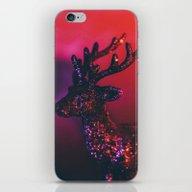 Glittering Deer iPhone & iPod Skin