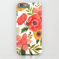 iPhone Cases featuring FLOWER POWER by Oana Befort