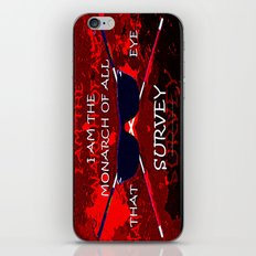 BEWARE ARED - 054 iPhone & iPod Skin