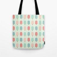 POPSICLES - BLUE Tote Bag