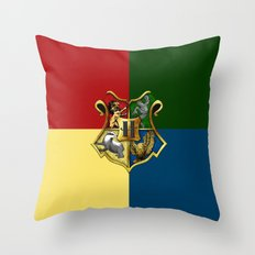 HOGWARTS - HOGWARTS Throw Pillow