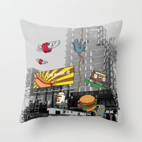 N Y C Throw Pillow