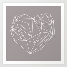 Heart Graphic Art Print