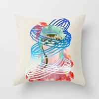 Olga Throw Pillow