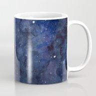 Night Sky Stars Galaxy |… Mug