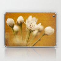 Golden Blossoms Laptop & iPad Skin