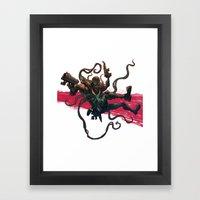 Agent Venom Framed Art Print