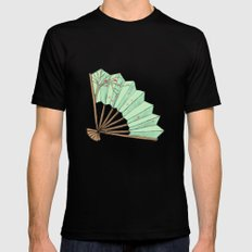 Fan Mens Fitted Tee Black SMALL