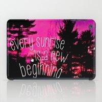 Sunrises are New Beginnings iPad Case