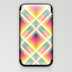 Retro Rainbow iPhone & iPod Skin