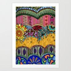 Layers Art Print