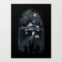 Zombies Inn Canvas Print