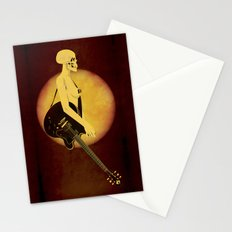 Skull Of Rock Stationery Cards