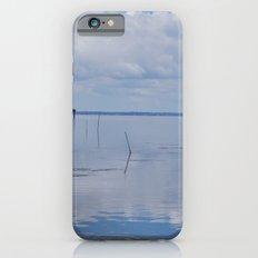Picture Perfect Blue Sky Water Bay Scene Landscape  iPhone 6 Slim Case