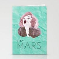 Mars Stationery Cards