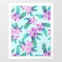 Tahitian Garden {D} Art Print