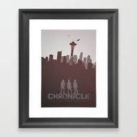 Chronicle (2012) Minimal… Framed Art Print