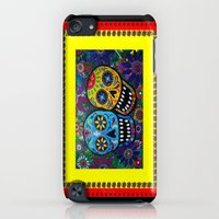 iPhone Cases featuring dayofthedead-couple by Kathead Tarot