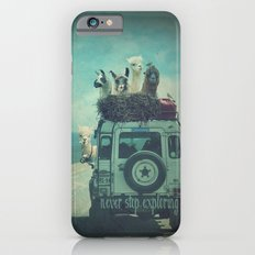 NEVER STOP EXPLORING II iPhone 6 Slim Case