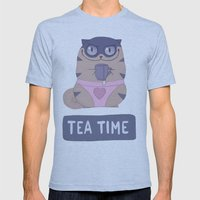 Boggart Tea Time Mens Fitted Tee Athletic Blue SMALL