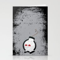 Happy Bombs Stationery Cards