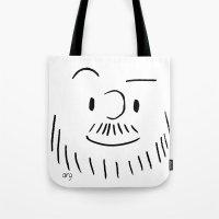 Louis's Face Tote Bag